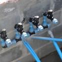 4 nie podłączone elektrozawory